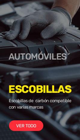 Escobillas de carbón automóviles